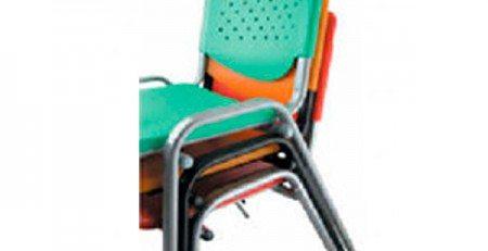Cadeira Empilhável Plástica, Cadeira Design Empilhável