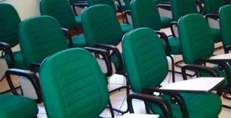 Cadeira Universitária para Auditório SP, Cadeira Universitária Gomada, Cadeira Universitária com Gomos