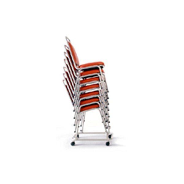 Cadeira Empilhável Estofada, moveis para escritório, moveis de escritorio