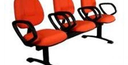 Longarina para recepção e espera, cadeiras para escritório em SP