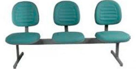 Longarina 3 lugares, cadeiras para escritório em SP