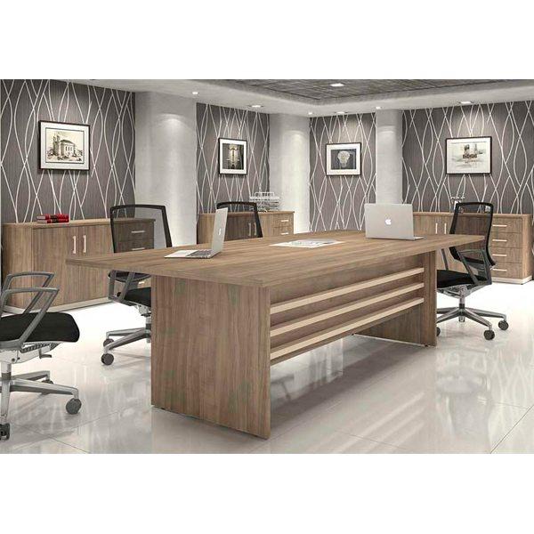 Mesa de Reunião Retangular Person - Mesas Para Reunião - Moveis para Escritorio SP