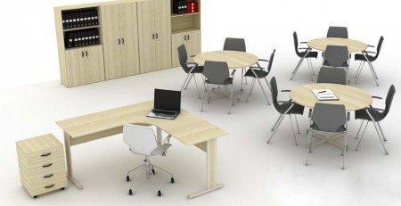 Mesa Para Escritório Light - Detalhe