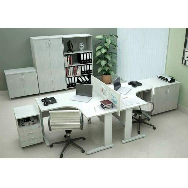 Mesa para Escritório em L - Destaque Mesas - Moveis para Escritorio SP