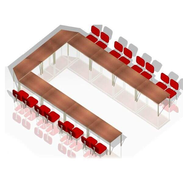 Mesa Para Treinamento 2 - Mesas Para Treinamento - Moveis para Escritorio SP