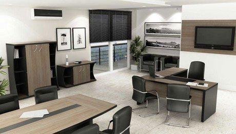 Mesa para escritório executiva 40mm maciça - _destaque - Moveis para Escritorio SP