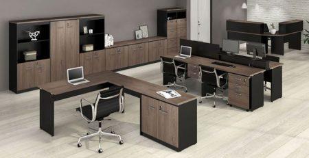 Mesa Para Escritório Y - Escura