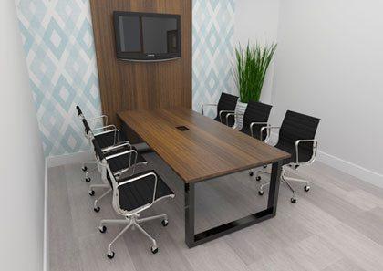 Mesa de Reunião Person - Destaque Mesas - Moveis para Escritorio SP
