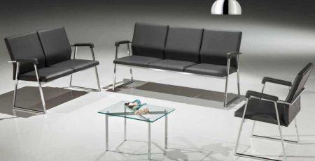Sofá para recepção ou sala de espera, cadeira de escritório em SP