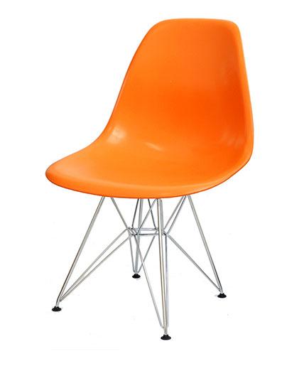 Cadeira Charles Cromada - Cadeira de plástico - Moveis para Escritorio SP