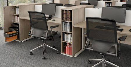 ilha de trabalho, estação de trabalho, plataforma, bancada, móveis para escritório em SP