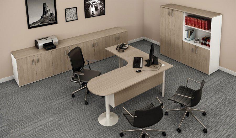 Mesa Gerente Roma Plus - Mesas para atendimento - Moveis para Escritorio SP