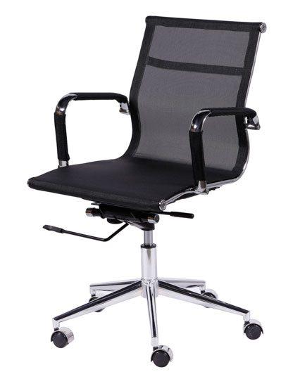 Cadeira diretor tela preta - Cadeira Diretor Gerência - Moveis para Escritorio SP