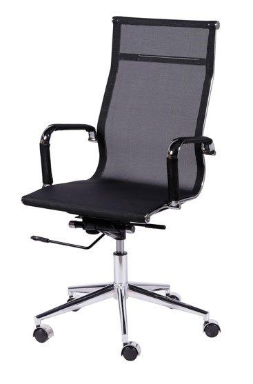 Cadeira presidente tela preta - Cadeira presidente - Moveis para Escritorio SP