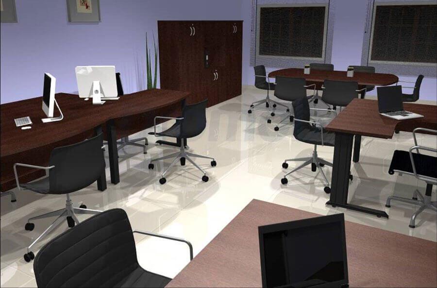 Móveis para escritório planejados - Estações