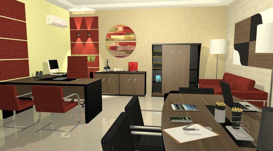Móveis Planejados Para Escritório - escritório planejado