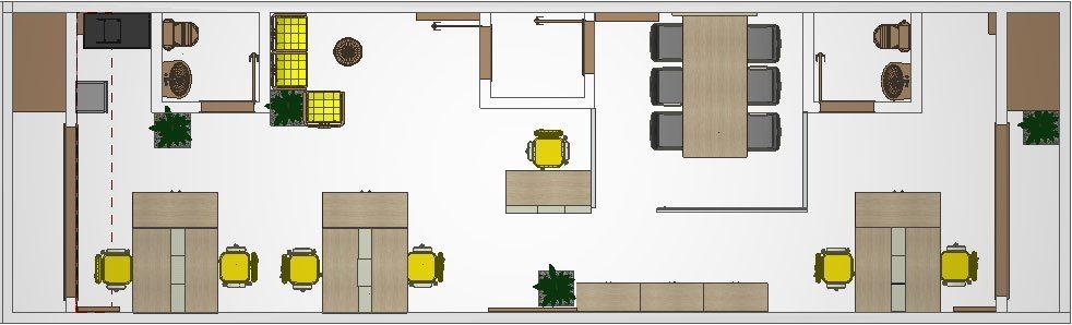 Móveis Planejados Para Escritório - Design