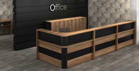 Balcão de Atendimento Office - Vista Geral
