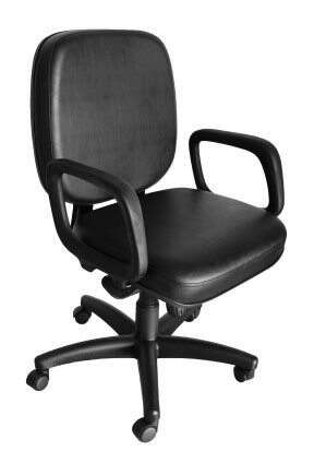 Cadeira Giratória Para Obesos – Lisa - Cadeira Diretor Gerência - Moveis para Escritorio SP