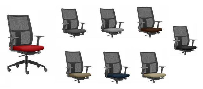 Cadeira Time, cadeira para computador, cadeira presidente ergonômica, móveis para escritório em SP