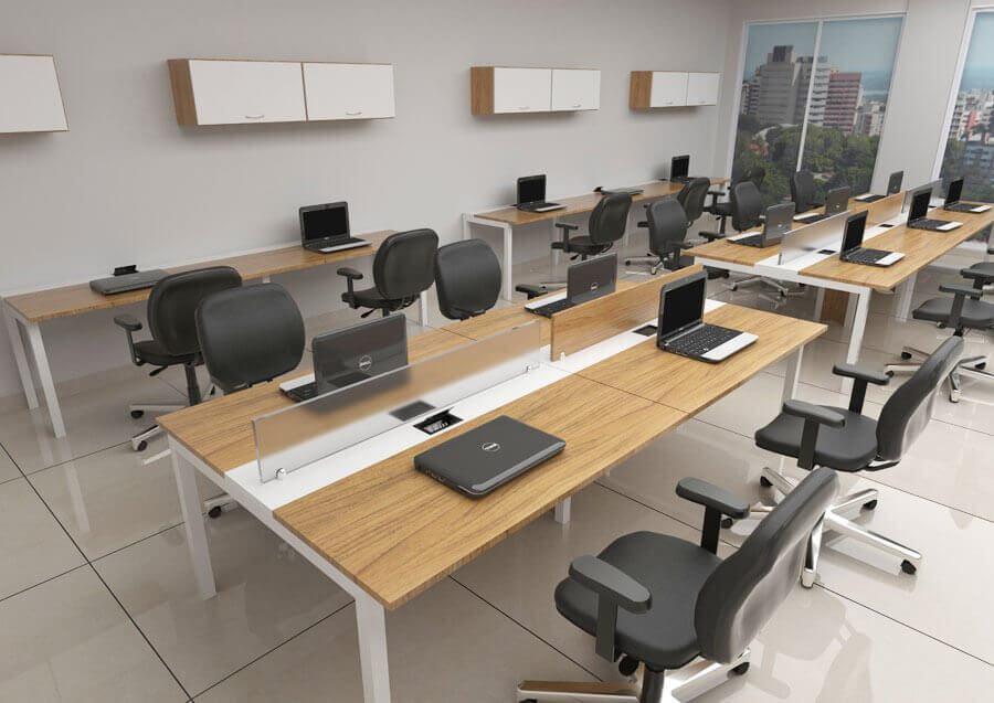 Mesa para escritório, móveis para escritório em SP