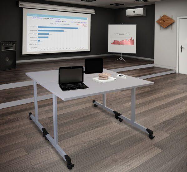 Mesa de Treinamento Office Mot - fechada