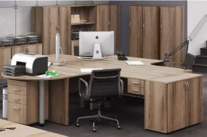 Mesa Para Escritório Work Pró - Destaque Mesas - Moveis para Escritorio SP