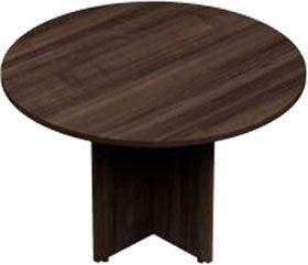 Mesa de reunião redonda Pri - _destaque-mesas - Moveis para Escritorio SP