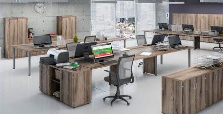 Estação de trabalho, mesão, móveis para escritório em SP