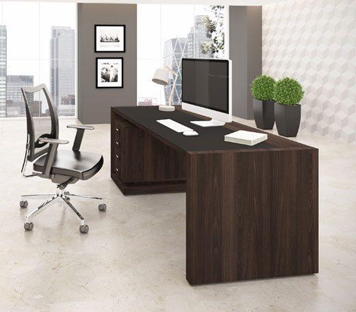 Mesa diretor em MDF 56mm - Móveis para escritório em MDF - Moveis para Escritorio SP