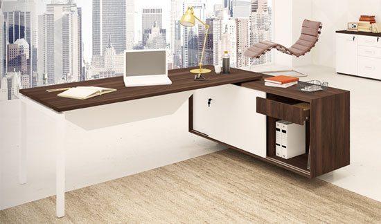 Mesa para escritório em MDF 25mm - Móveis para escritório em MDF - Moveis para Escritorio SP