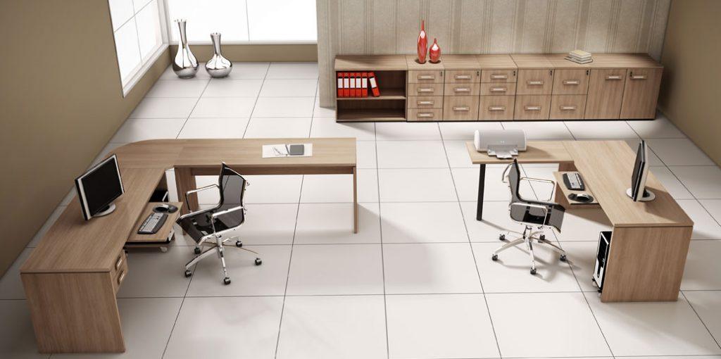 mesa para escritório em MDF, móveis para escritório em SP