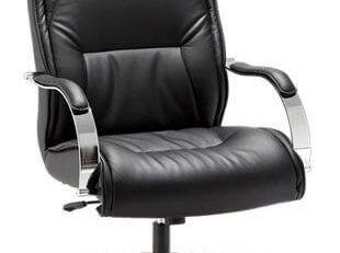 Cadeira Presidente Real - Preta - Luxo