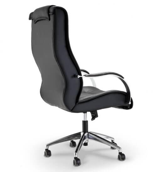 Cadeira Presidente Real - Vista Lateral - Cadeira para escritório - Móveis para escritório em SP