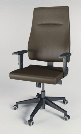 Cadeira presidente Slim 2 - _destaque - Moveis para Escritorio SP