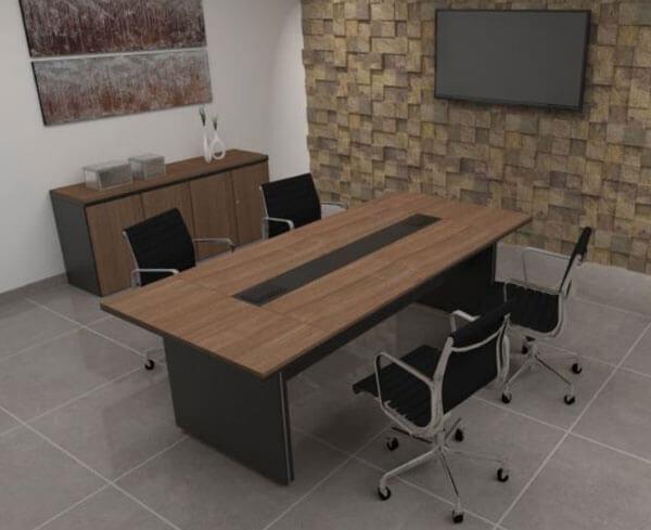 Mesa de reunião Person Max - Mesas para Reunião - Moveis para Escritorio SP