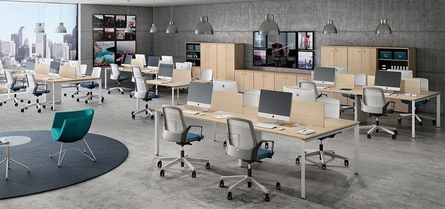 Mesa Plataforma Fit - Cadeiras em Tela