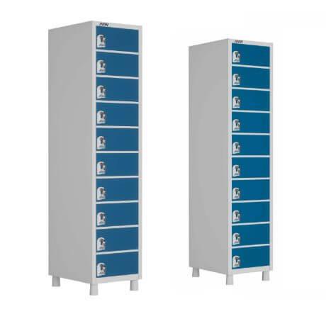 Porta Objetos 10 portas - Móveis de Aço - Moveis para Escritorio SP