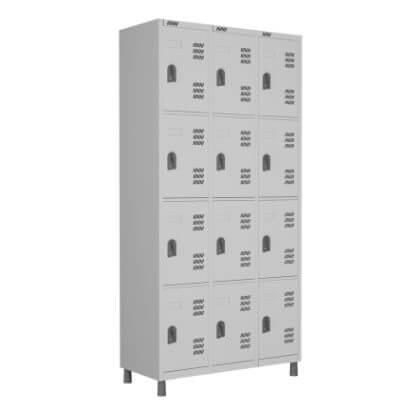 Roupeiro 12 portas - Móveis de Aço - Moveis para Escritorio SP