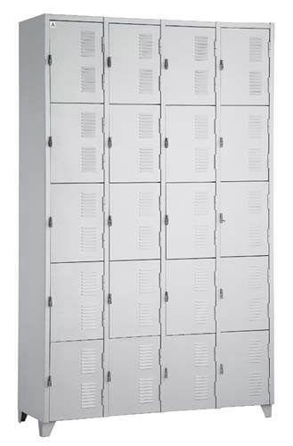 Roupeiro 20 portas - Móveis de Aço - Moveis para Escritorio SP