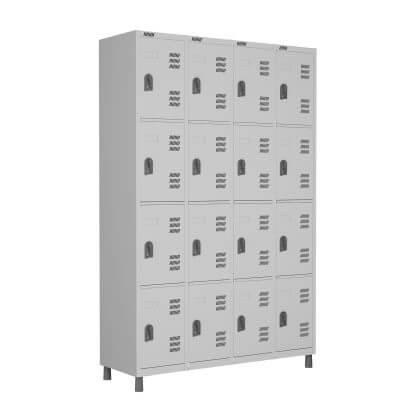 Roupeiro 16 portas - Móveis de Aço - Moveis para Escritorio SP