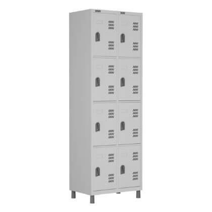 Roupeiro 8 portas - Móveis de Aço - Moveis para Escritorio SP