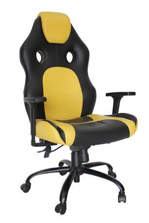 Cadeira Gamer Amarela - Cadeira Gamer - Moveis para Escritorio SP