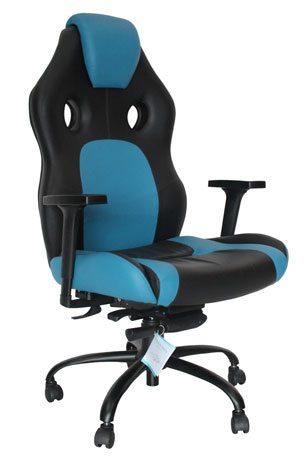 Cadeira Gamer Azul Claro - Cadeira Gamer - Moveis para Escritorio SP