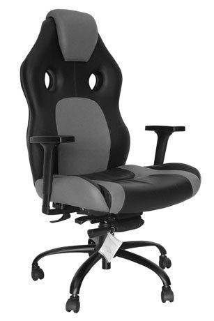 Cadeira Gamer Preto Cinza - Cadeira Gamer - Moveis para Escritorio SP