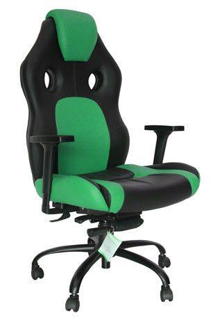 Cadeira Gamer Verde 2 - Cadeira Gamer - Moveis para Escritorio SP