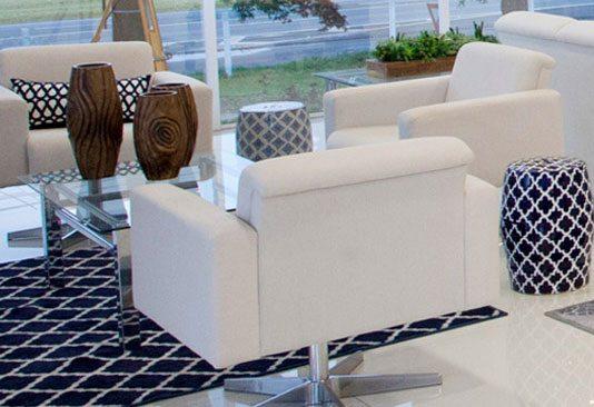 Sofá Para Recepção Seat Plus - Sofás Para Escritório - Moveis para Escritorio SP