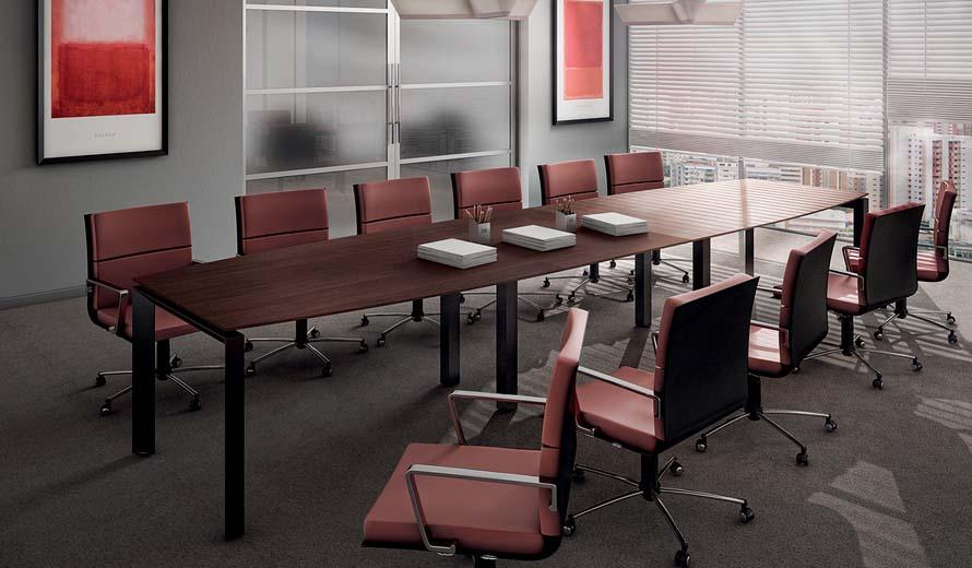 Mesa de Reunião Premium - Escritório - Moveis para Escritorio SP