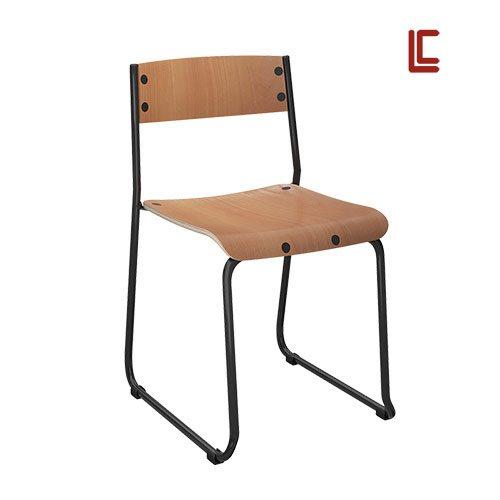 Cadeira Empilhável Madeira - Cadeira Empilhável - Moveis para Escritorio SP
