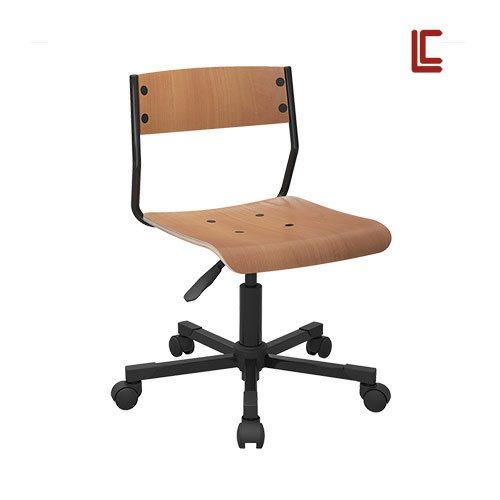 Cadeira Giratória Madeira - Cadeira Executiva Secretária - Moveis para Escritorio SP